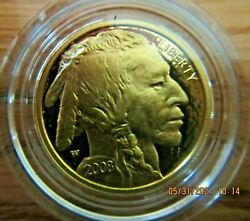 2008 United States Mint American Buffalo 1/4 Ounce Gold Proof Coin Item Bc8