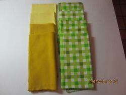 Vintage Table Linens Napkin Lot Of 8-never Used-1950's And 1960's