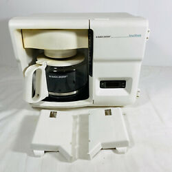 Black And Decker Odc325 Spacemaker 12 Cup Coffee Maker Rv Camper Under Cabinet