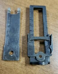 Original Wwi Us 1917 Enfield Rear Sight And Leaf Spring