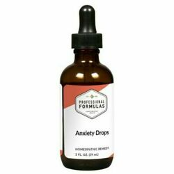 Anxiety Drops 2 Fl. Oz Professional Health Formulas For Stress Anxiety Relief