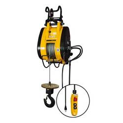 Oz Electronic Builder's Hoist 110 Ac Electric Load Capacity 1000 Lbs Obh1000