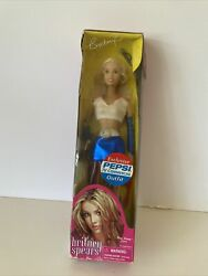Sealed Britney Spears Doll Pepsi Tv Commercial Outfit Play Along 2001 Vintage