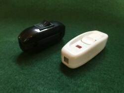 2 On/off Lamp Light In Line Cord Rocker Toggle Power Switch. Ships From Florida.