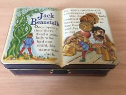The Silver Crane Company Jack And The Beans... Tin Box Free Registered Shipping