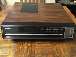 Rca Selectavision Video Disc Player Model Sft 100w / Not Tested But Powers On