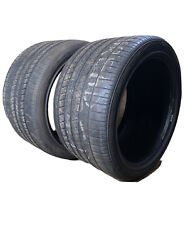 2 - Used 325/30r19 Goodyear Eagle F1 Supercar Emt Tires 4.5-6/32nds 3253019