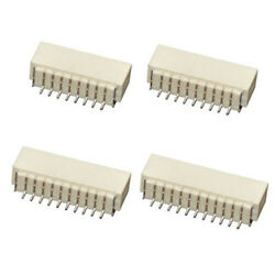 2/3/4/5/6/7/8/9/10pin Terminal Housing Pcb Header Connector Wire Pitch 1.00mm