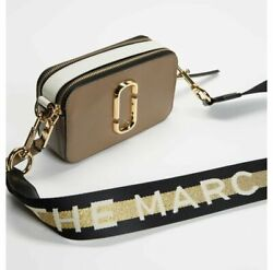 Marc Jacobs Fluorescent Snapshot Small Women#x27;s Camera Bag French Grey Multi $189.97
