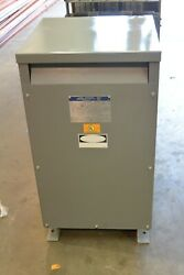 Square D 75s3h 75 Kva 1 Phase Dry Transformer 240x480 To 120/240 Volt