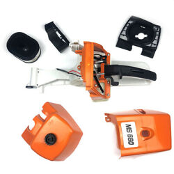 1set Gas Fuel Tank Shroud Cover Accessory For Stihl Ms660 Ms650 066 065 Chainsaw