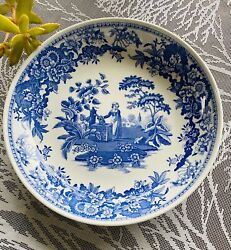 The Spode Blue Room Collection Girl At Well Dinner Plate Set 2 Collector Plates