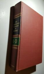 Interpreter's Dictionary Of The Bible Volume A-d, 1962, Illustrated By Abingdon