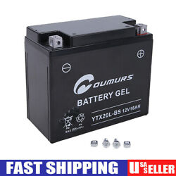 Agm Battery For Harley Dyna Cvo Fxd Fxdb Fxdc Fxdf Fxdi Fxdl Fxdp Fxds Fxdwg