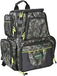 Seaknight Fishing Tackle Backpack Water-resistant Large Storage With 4 Trays