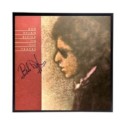 Bob Dylan Blood On The Tracks Autographed Album Cover Reprint