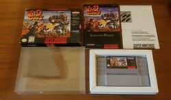 Wild Guns Nintendo Snes Cib Complete 1995 Authentic And Tested Excellent Shape