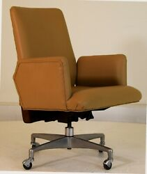 Jens Risom For Marble Executive Office Chair Mid Century Modern Vintage
