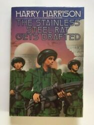 The Stainless Steel Rat Gets Drafted - 1st. Ed. Signed By Harry Harrison