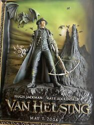Van Helsing Code 3 3d Sculpture Movie Poster Htf Rare 👀 Sold Out