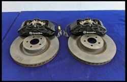 2015-2018 Ford Mustang Gt 5.0l Brembo Driver Caliper Front Appearance Package