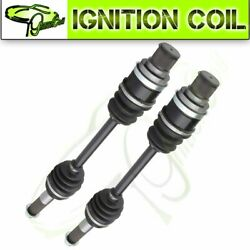 2pc Rear Left Right Constant Velocity Cv Axle For Yamaha Grizzly 400 450 2005-11
