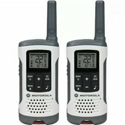 Motorola Talkabout T260 Rechargeable Two-way Radios With Noaa Weather Alert