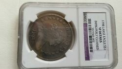 1798 Draped Bust Silver Dollar 1 - Certified Ngc Vf Details - Rare Coin
