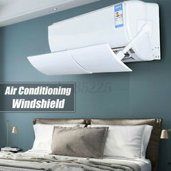 Air Conditioner Cover Windshield Conditioning Baffle Shield Adjustable Anti-wi