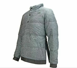 The Eros Down Pullover Jacket Size L Heather Grey New With Tags 149