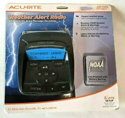 Acurite Weather Alert Radio With Specific Area Message Encoding New Sealed