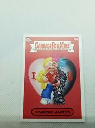 2021 Topps On Demand Funny Valentines Day Disjoined James Error Card No Gloss