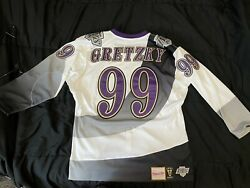 Wayne Gretzky Mitchell And Ness Jersey Los Angeles Kings Xl Throwback Nhl 48 La