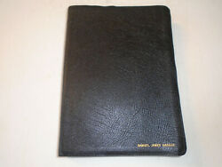1982 - Scofield Reference Holy Bible, Concordance, Red Letter, Authorized Kjv