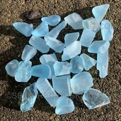 Earth-mined Excellent Large Size 3-5 Gram Natural Blue Topaz Rough Facet Quality