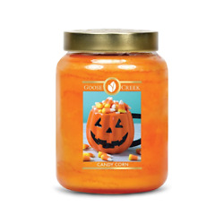 ☆☆candy Corn☆☆large Goose Creek Candle Jar 24 Oz.☆☆free Expedited Shipping