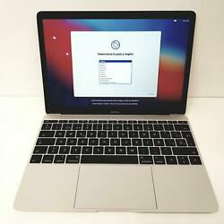 Apple Macbook Retina 9.1 Core M5 12ghz M5-6y54 8 Ram 512 Ssd 12and039and039 B Po115360