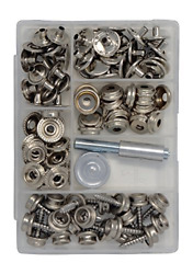 Canvas And Upholstery Boat Cover Snap Button Fastener Kit W/installation