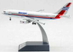 Inflight 200 If310wd0720 1/200 Wardair Canada A310-304 Reg C-giwd With Stand