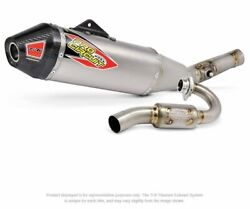 Pro Circuit T-6 Stainless Exhaust System Honda Crf450r Fits 2021 Only
