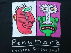 90s Penumbra Theatre Stage Art African American Vintage Pop T-shirt Made In Usa
