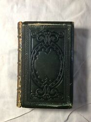 Cowper's Poetical Works, 1863, Gilded Pages, Illustrated, Antique Book