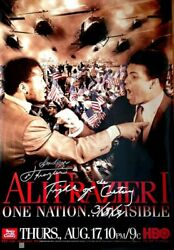 Joe Frazier Signed Ali - Frazier I Hbo Poster With Special Inscriptions