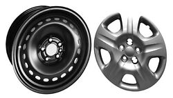 1 Road Ready 16 Inch Dodge Dart Wheel Rim With 4 Hubcaps