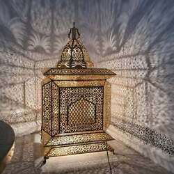 Unique Large Moroccan Standing Lamp All Sizes Available 4 Colors Handmade Boho