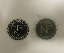 Nightforce Optics Morale Patches Firearm Army Vest Military Police Tactical