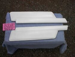 1963-63 1/2 64 Ford Galaxie Hard Top Sun Visors With Out Mounting Brackets Pair