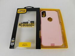 Otter Box Pink Iphone Xr Commuter Series Protective Case Gift Hard