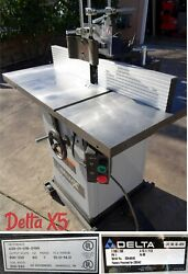Wood Shaper Delta X5. 230 Volt Single Phase. Made In Usa Excellent Condition.