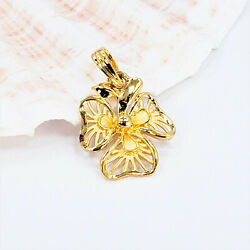 Goldshine 22k Solid Gold Pendant Genuine Hallmarked 916 Chain Is Not Included